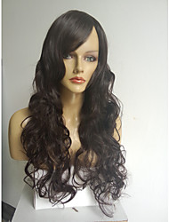 Lady's Extra Long High Temperature Fibre Black Wig