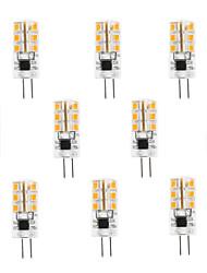 10pcs G4 3W 24x2835SMD 180LM 3000K/6000K WarmWhite/Cool White Light LED Corn Bulb(AC200-240V)