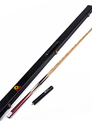 1 Piece  Handmade ash snooker/Pool Cue O'min brand  billiard cue+Cue Case