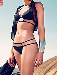 Muairen® Women'S Sexy Black Bikini SwimSuit Big BurSt Milk