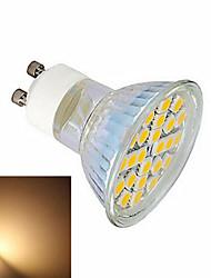 5W GU10 Точечное LED освещение 24 SMD 5050 600 lm Тёплый белый / Холодный белый AC 220-240 V 1 шт.