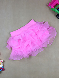 Girl's Summer Micro-elastic Sheer Skirts (Organza)