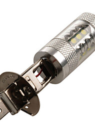 1 pcs  H1 80 W 14LED  High Power LED 1200 LM 2800-3500/6000-6500 K Natural White Decoration Light DC 24/DC 12 V