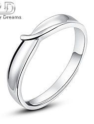 Poetry Dreams Solid Sterling Silver Adjustable Ring Women's Ring