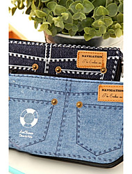 Cute Denim Shorts Pencil Bag (Random Color)