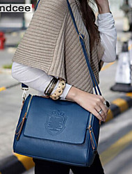 Handcee® Women Casual PU Zipper Crossbody Bag The Newest Fashion and Most Popular Lady Shoulder Bag