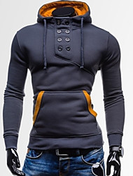 Vito Men's Casual Hoodie Long Sleeve Sweats & Hoodies