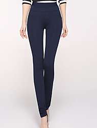 Women's Blue/Red/White/Black Skinny Pants , Casual/Plus Sizes