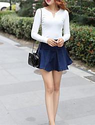 Women's Fashion Slim Summer Jeans Denim Skirt