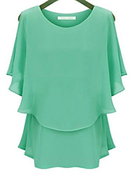 Women's Casual Chiffon Tops & Blouses