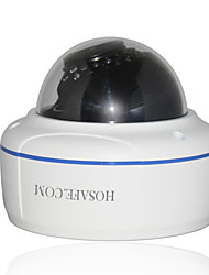 HOSAFE X2MD1AFW ONVIF 2MP 1080P POE 4X Zoom Auto Focus Dome IP Camera w/ 30 IR LEDs
