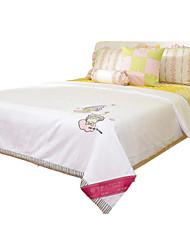 Children Summer Blanket Silk Blanket White Cotton Twin Quilt