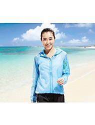 Top/Giacca di pelle/Giacche a vento/Jersey - Campeggio e hiking/Pesca/Fitness/Attività ricreative/Spiaggia/Ciclismo/Corsa - Per donna -