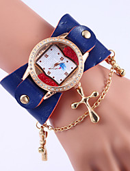 Women's Bohemian Watches Wide leather diamond ceramic Quartz Wristwatch Watches(Assorted colors) Cool Watches Unique Watches