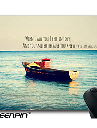 SEENPIN Personalized Tumblr Shakespeare Quote Ocean Boat Love Cute Girly Mouse Pads