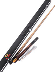3/4 Jointed  Handmade spliced snooker Cue +extension   O'min brand  union billiard cue+Cue Case