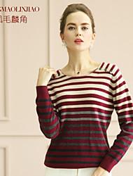 Women's Cashmere , Vintage/Work Long Sleeve