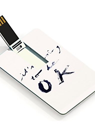 8GB It's Going To Be OK Design Card USB Flash Drive