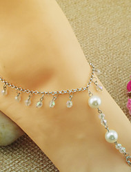 Fashion Big Pearl Anklets