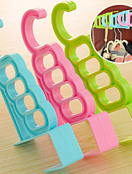 Cute Colorful Over Door Hooks Cabinet Clothes Pothook (Random Color)