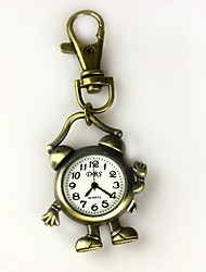 Women's Shape Of The Alarm Clock Keychain Watch Cool Watches Unique Watches
