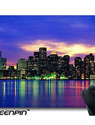 SEENPIN Personalized Mouse Pads City of Night Design