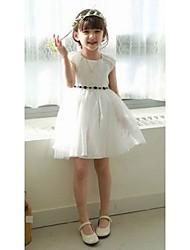 Kid's Casual/Cute/Party Dresses (Chiffon/Cotton Blend)