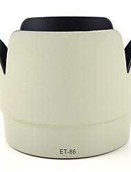 mengs® et-86 pétalo capilla de lente forma para Canon EF 70-200 mm f / 2,8L IS USM -white