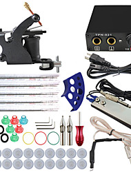 ITATOO™ Kit 1 Tattoo Machine Mini Tattoo Power with Free Gift of 20 Tattoo Inks