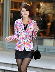 Women's Casual Medium ¾ Sleeve Short Blazer