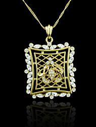 18k banhado a ouro verdadeiro allah muçulmanos zircão 5,9 * 4 centímetros