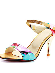 Lobo Women's Shoes Stiletto Heel High Sandals