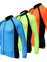 REALTOO Unisex Long Sleeve Spring/Summer/Autumn Cycling Jerseys