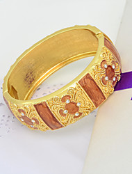 Bijouterie Hot Xmas Day Gift 18K Gold Plated Jewelry Bracelet High Quality Women Vintage Bangle