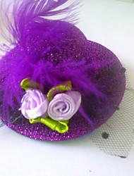Girls Fashion Beautiful Hat Hair Accessories Clips & Claws(Random Color)