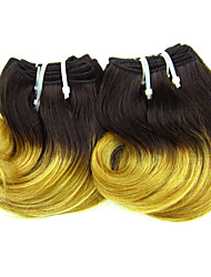 "1 Pcs Lot 8"" Brazilian Virgin Hair #27 Wave Brazilian Human Hair Extensions Bundles Short Body Wave"