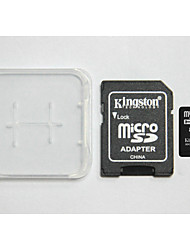 Kingston Digital 16 GB Class 4 Micro SD SDHC e la scheda di memoria e la casella di schede di memoria