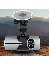 """2.7 """"LCD Wide Angle Dual Cameras Car Camera with GPS Logger"""