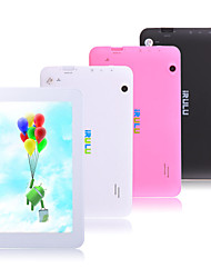 iRulu 7 Inch WiFi Android 4.2 Tablet (Quad Core 800*480 512MB + 8GB G Sensor)