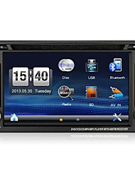 6.2inch Touch Screen 2din In Dash Car DVD Player for Most Cars with GPS Radio Steering Wheel Control rear Camera Input