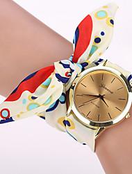 семь девочка случайно старинные DIY цветочный принт носовой часы
