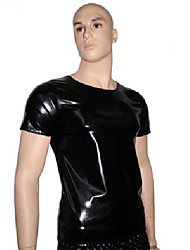 Muscle Boxer Black PU Leather Men's Halloween Costume