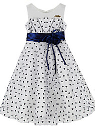 Girl's Flower Dresses Heart-shaped little Party Pageant Wedding Princess Kids Clothing Princess Dresses