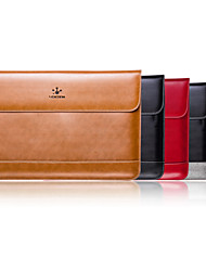 LENTION Genuine leather Laptop Bags with Magnetic Leather Sleeve Bag Case Cover for Macbook Air 11 inch More Colors