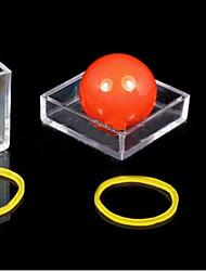 Magic Prop of Ball Through the Transparent Box