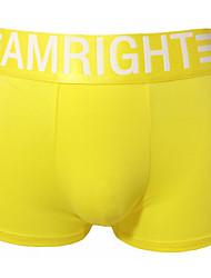 AMRIGHT Men's Comfort Cotton/lycra Underwear Boxer Briefs