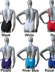 Cotton/Lycra Camisole Leotards with Back Hole More Colors  for Girls and Ladies