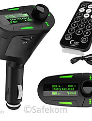FM Transmitter With Bluetooth Handsfree Car Kit/With Wireless Controller/Bluetooth 2.0/MP3 Play SD/MMC Card