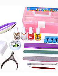 Nail Art Care Tool Polish Kits and Nail Tool Box