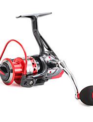 Carrete de la pesca Carretes para pesca spinning 5.0:1 11 Rodamientos de bolas Intercambiable / -Manos / ZurdoPesca al spinning / Pesca